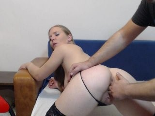 coupleforsex broadcast blowjob sessions featuring hardcore throat-fucking with a cock or a dildo