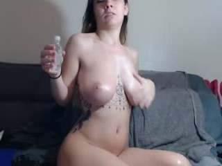 naughty_tattedblonde has an amazing set of big tits and her awesome ass looks amazing and fuckable