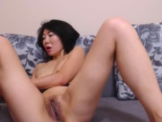 alexa_asian has an amazing-looking, juicy hairy pussy and sexy feet that you will love seeing
