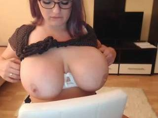 milkykandy has an ohmibod that lets you control her orgasms while she's shamelessly masturbating