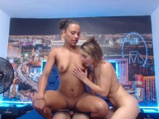 groupfire broadcast DP sex sessions featuring enjoying both vaginal and anal sex
