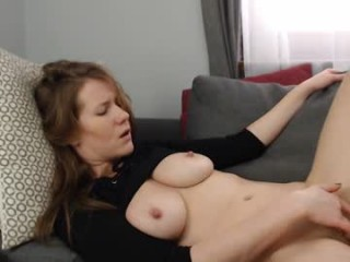 dirtysecretgirl1 has an ohmibod that lets you control her orgasms while she's shamelessly masturbating
